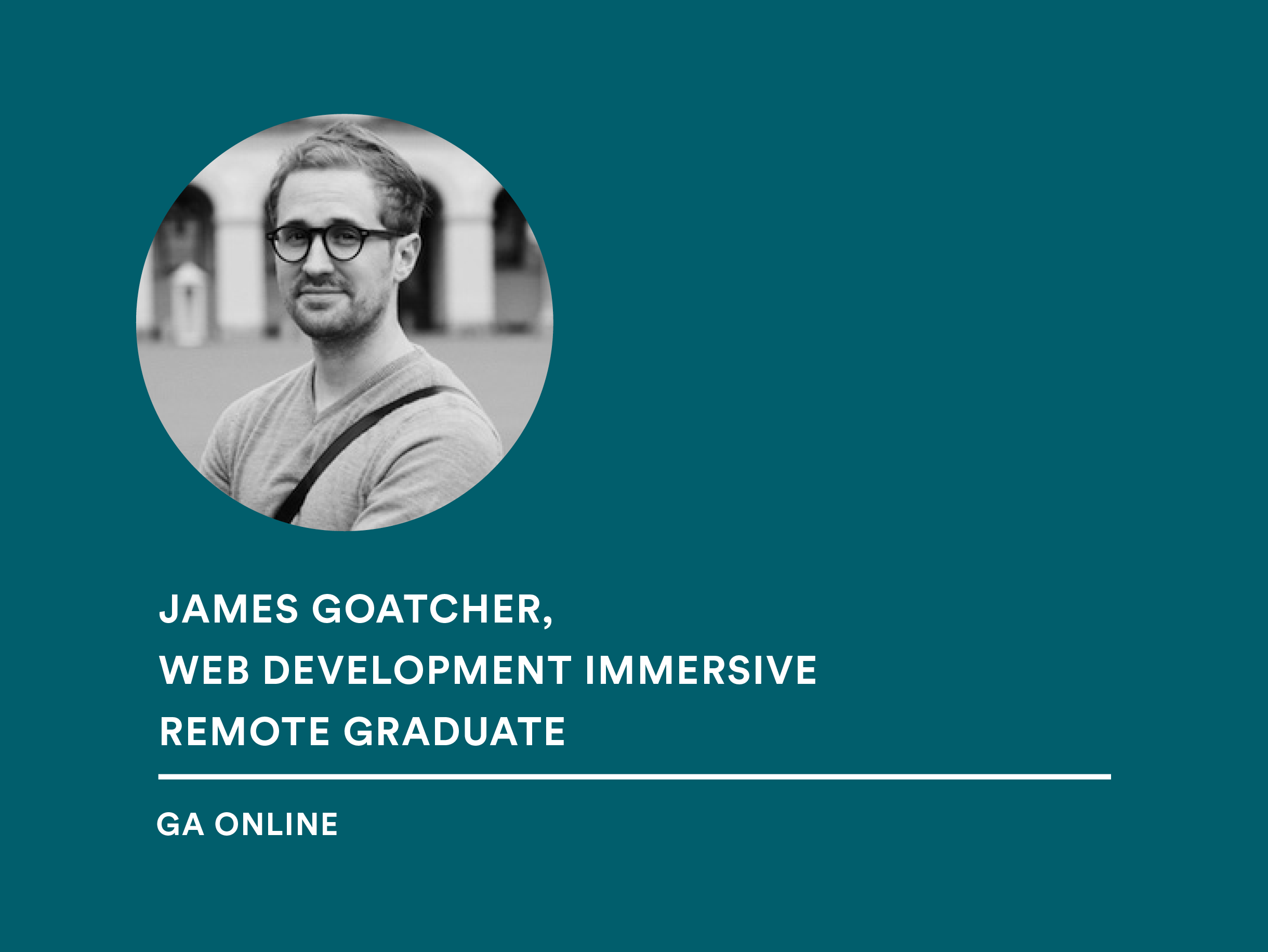 Student James Goatcher