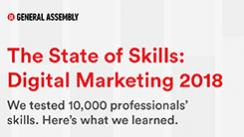 State of Skills: Digital Marketing 2018